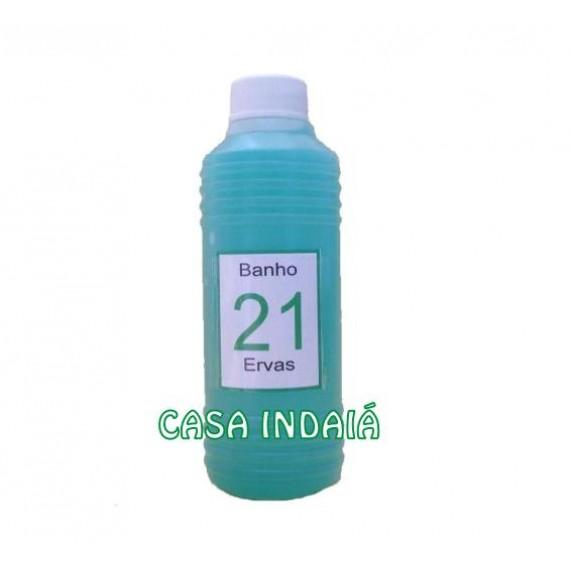 Banho Líquido 21 Ervas 220 ml
