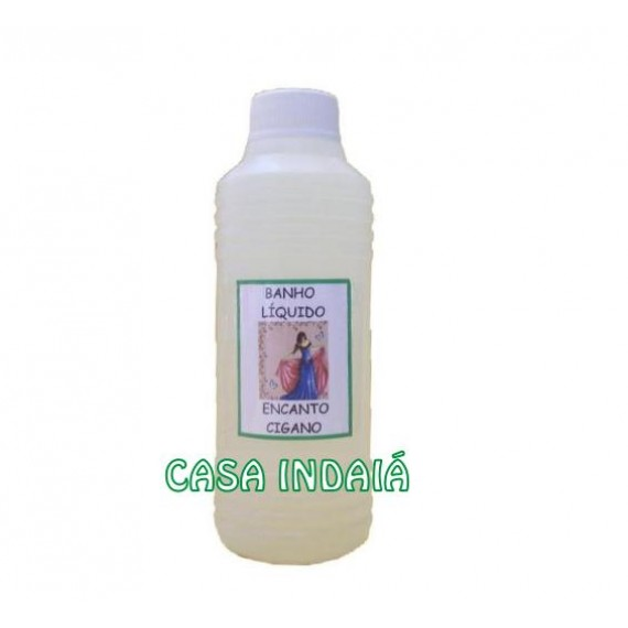 Banho Líquido Encanto Cigano 220 ml
