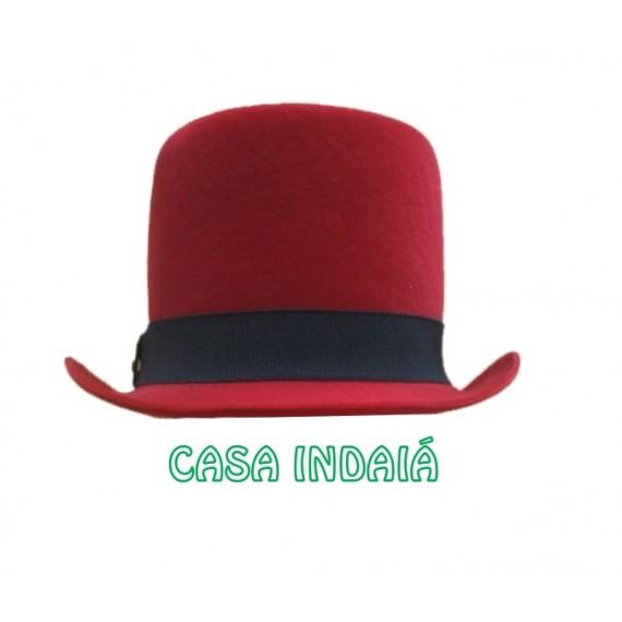 Cartola Luxo Vermelha