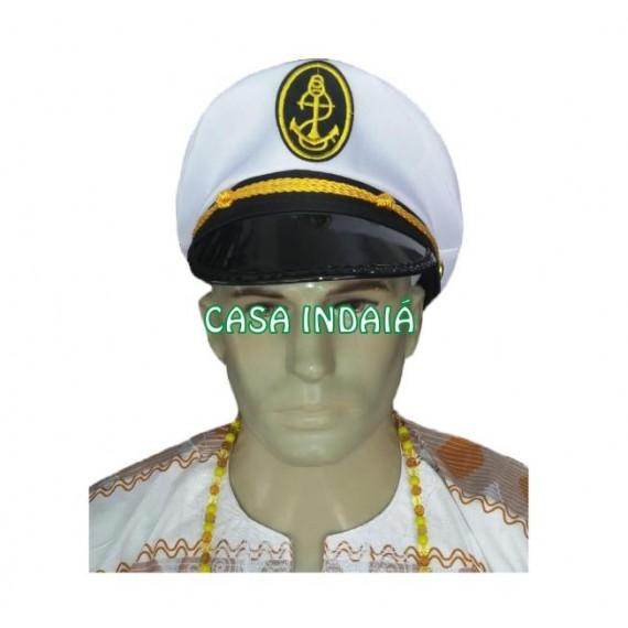 Chapéu de Capitão Luxo (Quepe)