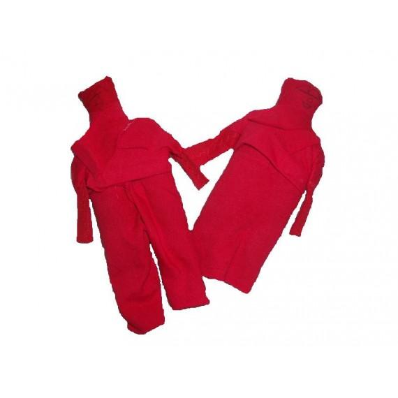 Boneco de Pano Vermelho (Casal)