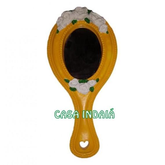 Espelho Abebe Luxo Amarelo