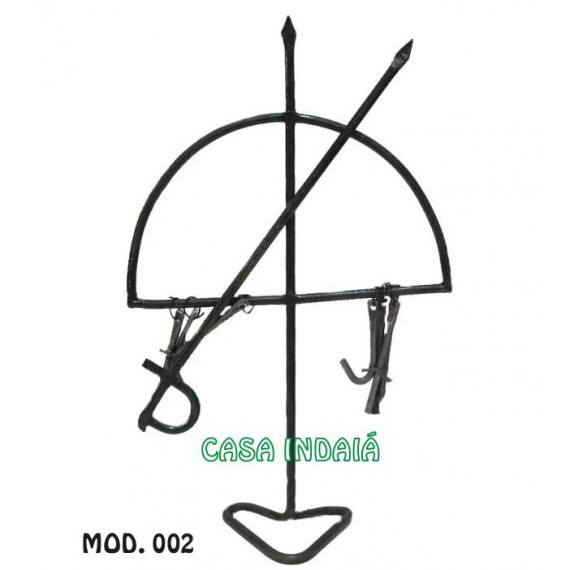 Ferro 35cm (mod. 002) Ogum c/ Espada