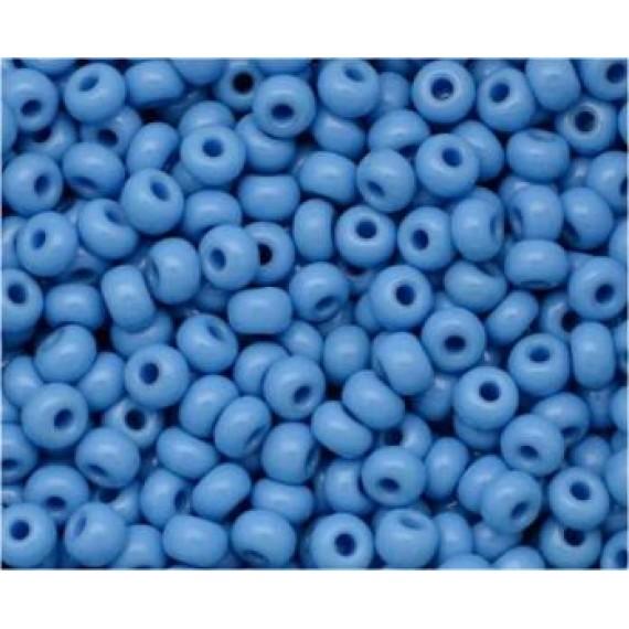 Miçanga Azul Royal Leitosa