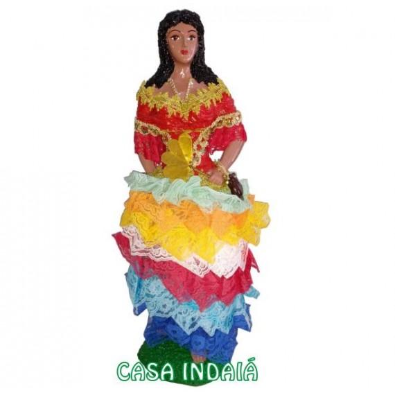Cigana Sete Saias 60cm em Resina