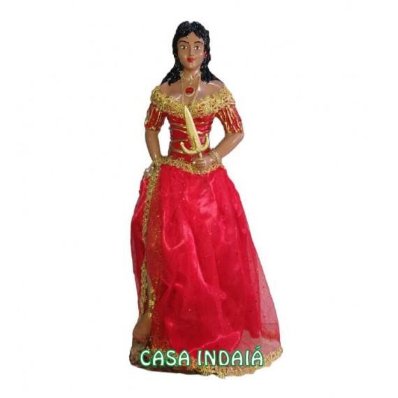 Cigana / Pomba Gira 60cm em Resina