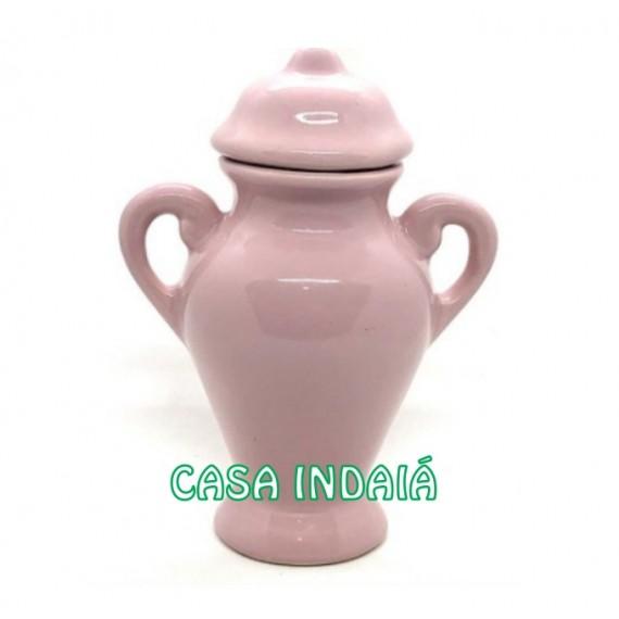 Quartinha 20 cm Rosa c/ Asa