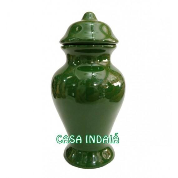 Quartinha 20cm Verde s/ Asa