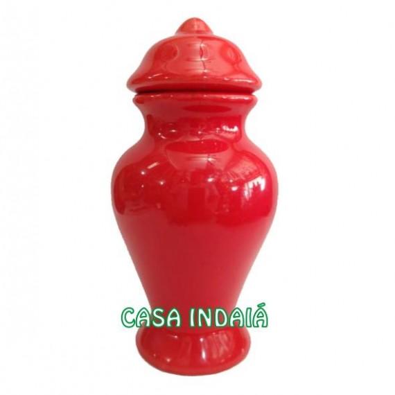 Quartinha 20cm Vermelha s/ Asa