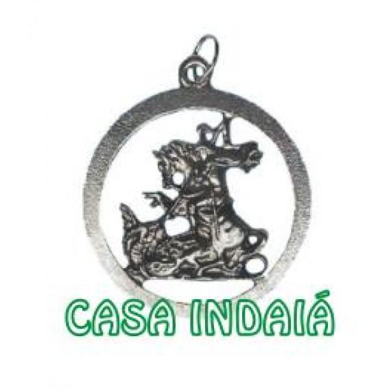 Medalha de São Jorge Grande Vazada (142)