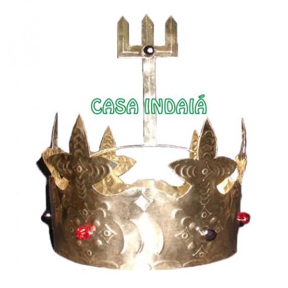 Coroa de Exu Dourada (Latão)