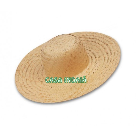 Chapéu de Palha Aba Estreita (Simples)
