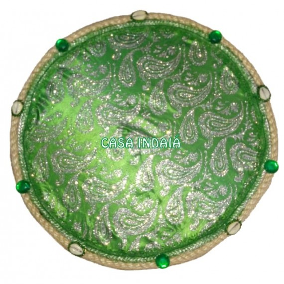 Peneira Decorada Verde