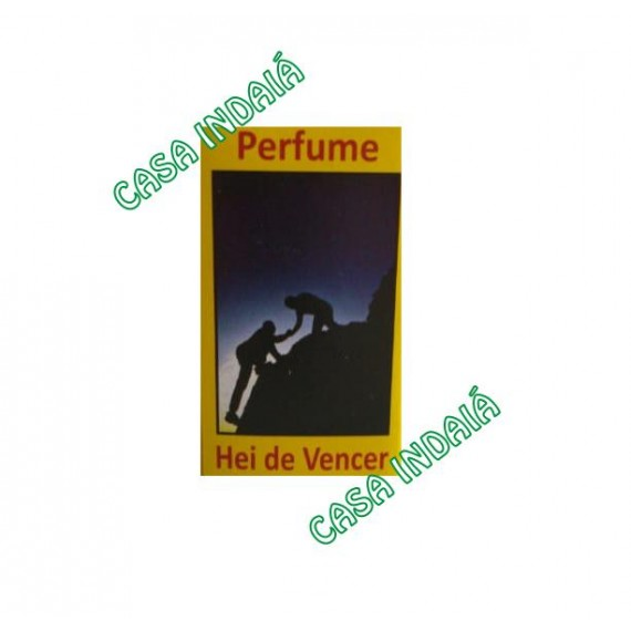 Perfume 10ml Hei de Vencer