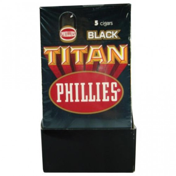Charuto Titan Black c/ 5 Unidades