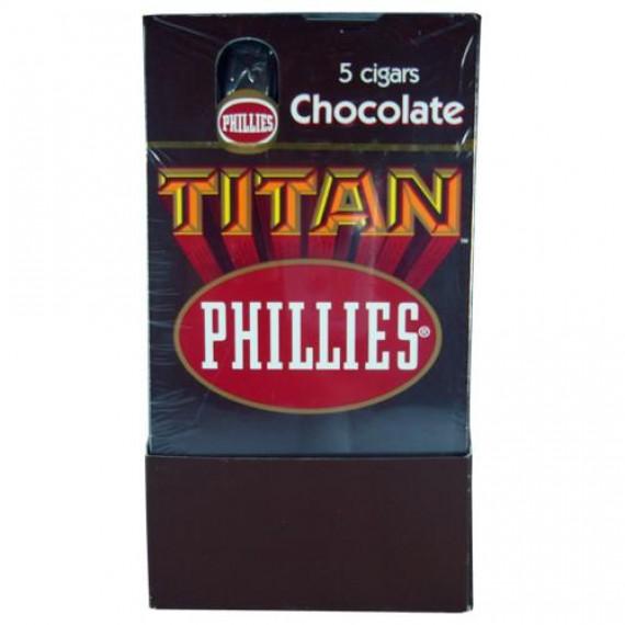 Charuto Titan Chocolate c/ 5 Unidades