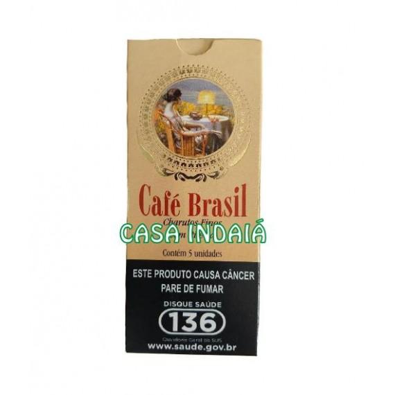 Cigarrilha Café Brasil c/ Piteira