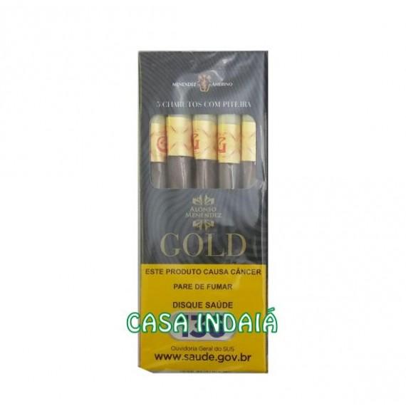 Cigarrilha Gold c/ Piteira