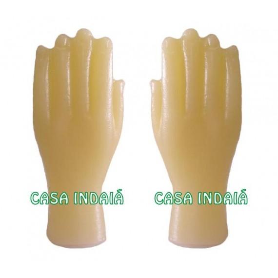 Mãos de Cera (Par)